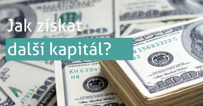 Jak získat další kapitál?