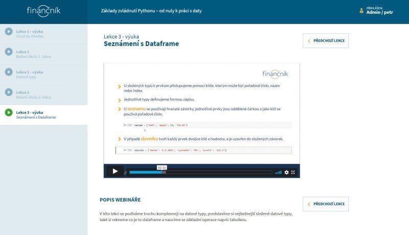 Základy zvládnutí Pythonu - bezplatný minikurz v rámci TechLabu